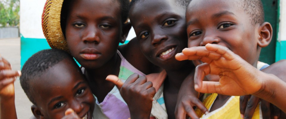 Children at NABI